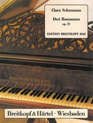 Drei Romanzen op. 21  Clara Schumann / Wieck-Schumann Clara / Joachim Draheim / Breitkopf