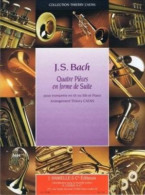 Quatre pièces en forme de suite / Bach Jean Sébastien / Leduc