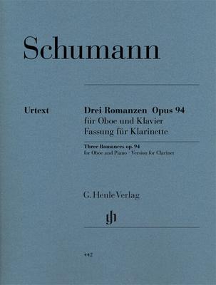 Romances op. 94Romances For Oboe / Schumann Robert / Henle