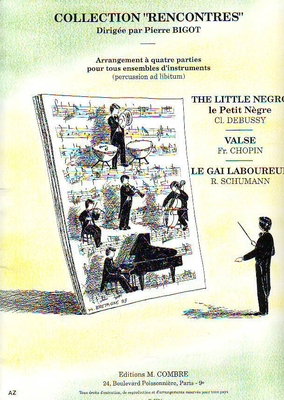 Collection Rencontres : Debussy-Chopin-Schumann /  / Combre