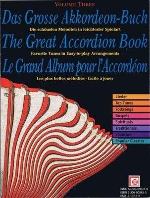 Le grand album pour accordéon, vol. 3 /  / Melodie