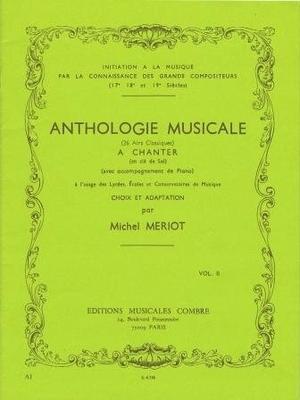 Anthologie musicale vol. 2 (26 airs classiques) /  / Combre