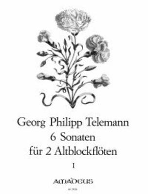 6 sonates op. 2 vol. 1 (1-3) Sechs Sonaten  TWV 40:101-103 – Band I: Sonaten 1-3 / Telemann Georg Philip / Amadeus