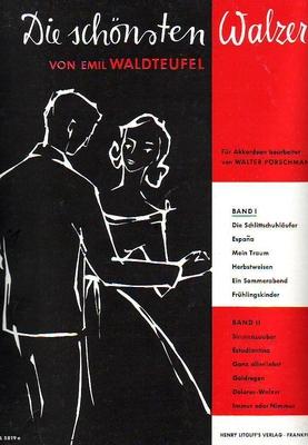 Die schönsten Walzer, vol. 1 / Waldteufel Emil / Litolff