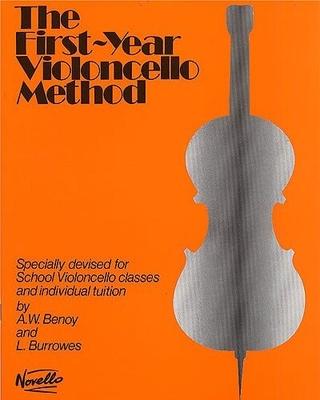 Cello Method / The First Year Violoncello Method    Cello Buch  NOV915905 / Benoy A.W. / Burrowes L. / Novello