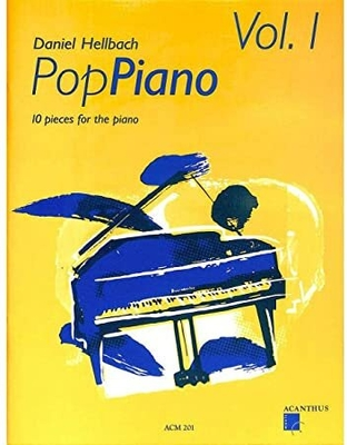 PopPiano vol. 1 / Hellbach Daniel / Acanthus