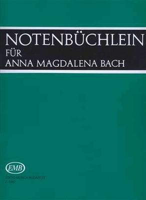 Notenbüchlein für AMB / Bach Jean Sébastien / EMB Editions Musica Budapest