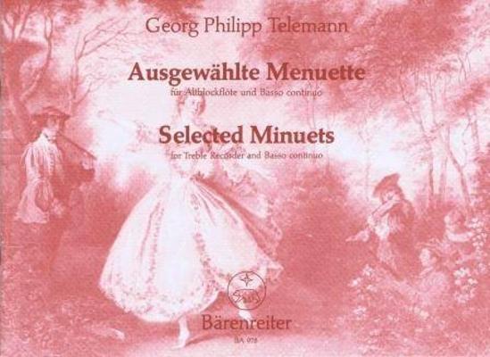 Ausgewählte Menuette / Telemann Georg Philip / Bärenreiter