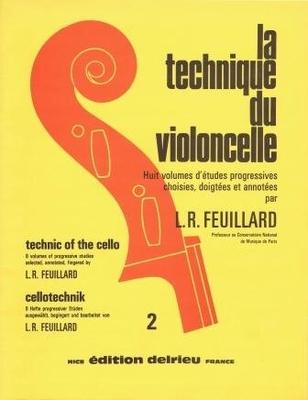 La Technique du violoncelle Vol. 2 / Feuillard L.R. / Delrieu