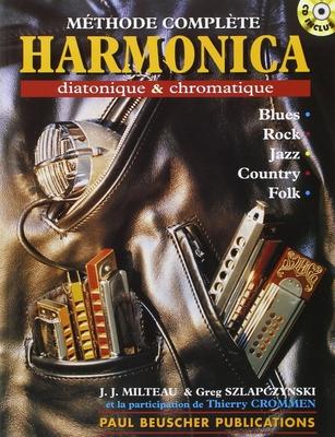 Harmonica diatonique et chromatique / Milteau J.J./Szlapczynski T. / Paul Beuscher