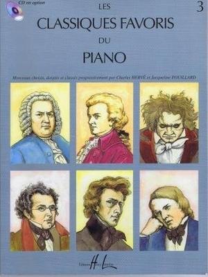 Les classiques favoris du piano vol. 3 /  / Henry Lemoine