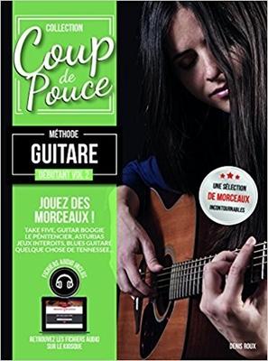 Coup de pouce / »Coup de Pouce» guitare vol 2 avec fichiers audio inclus – Nouvelle édition /  / Editions Coup de pouce