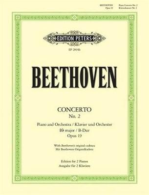 Concerto no 2 en sib majeur op. 19 / Beethoven Ludwig van / Peters
