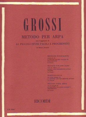 Metodo per arpa / Grossi Maria / Ricordi