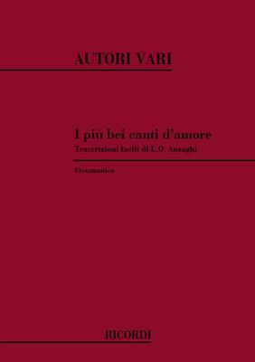 I Piu' Bei Canti D'Amore    Accordion Partitur  NR 127809 /  / Ricordi