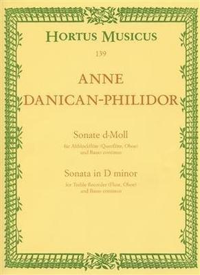 Hortus Musicus / Sonate en ré mineur Danican-Philidor / Danican-Philidor Anne / Bärenreiter