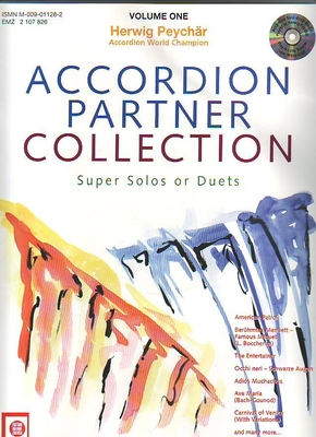 Accordion partner collection vol. 1 / H. Peychar / Melodie