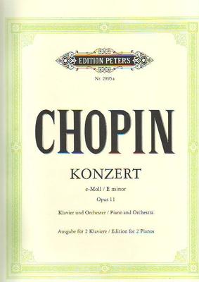 Concerto en mi mineur op. 11 / Chopin Frédéric / Peters