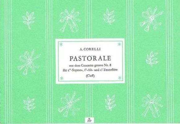 Pastorale du concerto grosso no 8 / Corelli Arcangelo / Noetzel