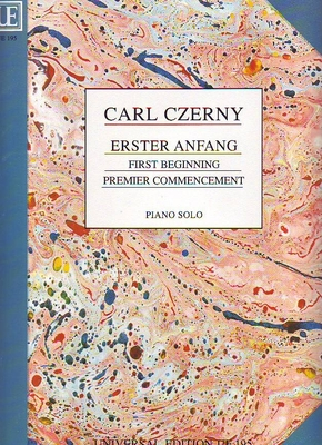 Erster Anfang (Premier commencement) / Czerny Carl / Universal Edition