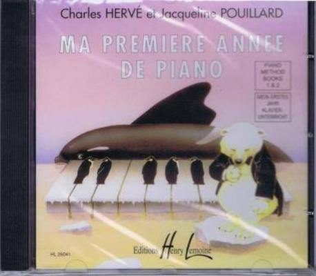 Ma première année de piano CD / Hervé et Pouillard / Henry Lemoine