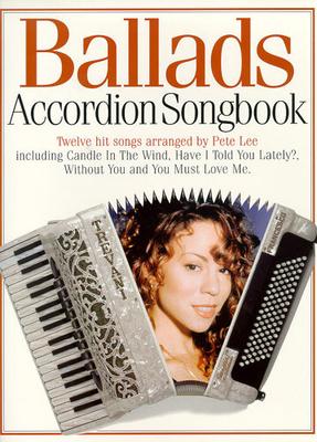 Accordion Songbook Ballads /  / Music Sales
