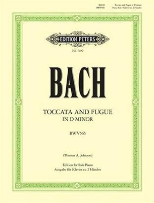 Toccata et fugue en ré mineur, BWV 565 / Bach Jean Sébastien / Peters
