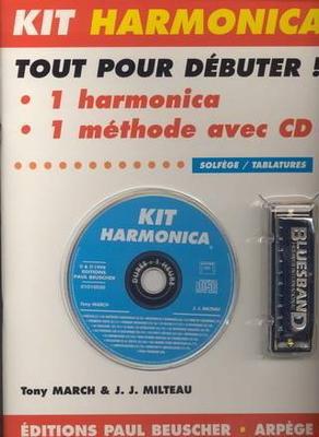 Kit Harmonica, tout pour débuter / March T./Milteau J.J. / Paul Beuscher