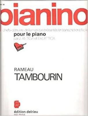 Pianino / Tambourin (Pianino no 35) / Rameau Jean Philippe / Delrieu