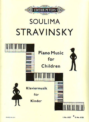 Piano Music for Children, vol. 2 / Stravinsky Soulima / Peters