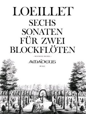 6 sonates / Loeillet Jean Baptiste (de Gant) / Amadeus