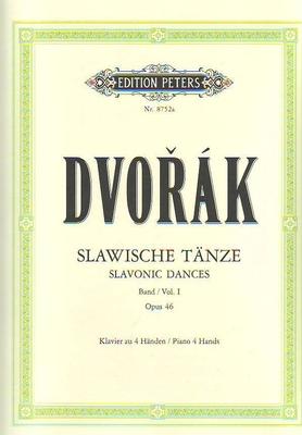 Danses slaves, vol. 1, op. 46 / Dvorak Antonin / Peters