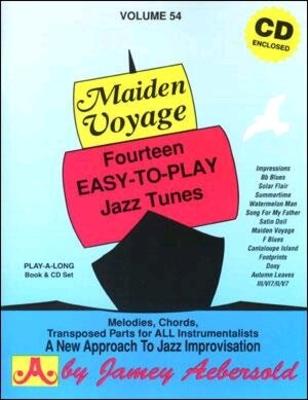 A new approch to jazz improvisation / Maiden Voyage vol. 54 / Aebersold Jamey / Aebersold
