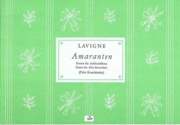 Amaranten / Lavigne Philibert de / Noetzel