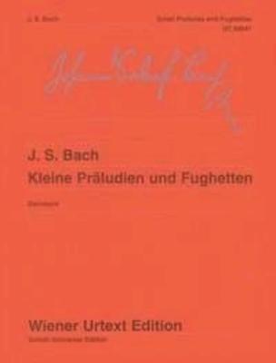 Petits préludes et fugues, BWV 895 à 999 / Bach Jean Sébastien / Wiener Urtext