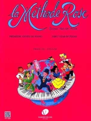 La Méthode Rose 1ère / première année de piano / édition révisée / Van de Velde Ernest / Van de Velde