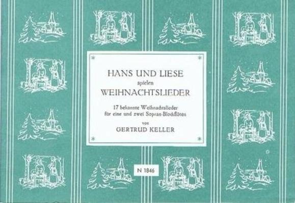Hans und Liese spielen Weihnachtslieder /  / Noetzel