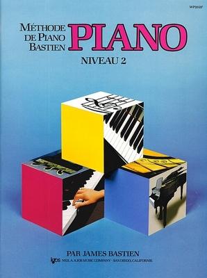 Méthode de Piano Bastien Piano Niveau 2 / Bastien James / Kjos Music Co