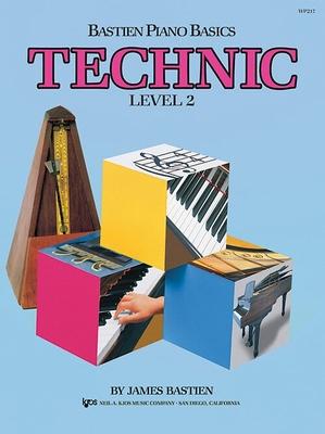 Méthode de Piano Bastien Technic Level 2 Anglais / Bastien James / Kjos Music Co