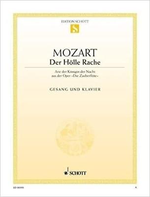 Der Hölle Rache (»La Flûte enchantée») / Wolfgang Amadeus Mozart / Schott
