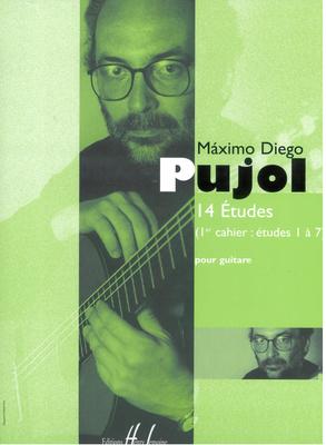 14 études, vol. 1 (1 à 7) / Pujol Maximo Diego / Henry Lemoine