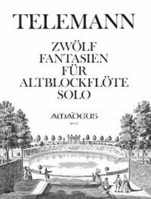 12 fantaisies 12 Fantasien  TWV 40:2-13 / Telemann Georg Philip / Amadeus