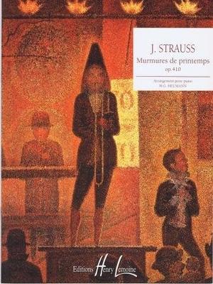 Murmures de printemps op. 410 (valse) / Strauss Johann (fils) / Henry Lemoine