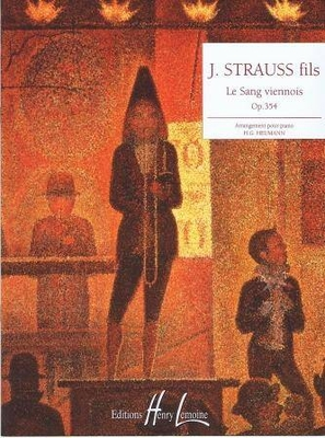 Le sang viennois op. 354 (valse) / Strauss Johann (fils) / Henry Lemoine