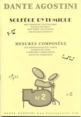 Solfège Rythmique vol. 2 / Agostini Dante / Agostini