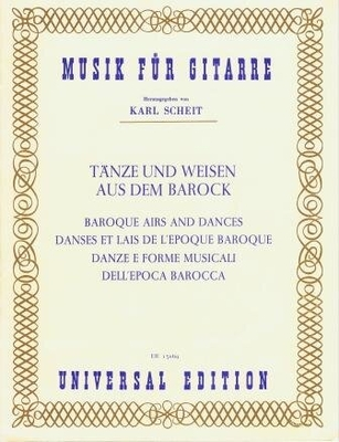 Danses et lais de l'époque baroque /  / Universal Edition
