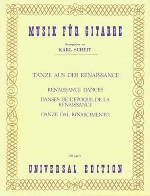 Danses de l'époque de la Renaissance /  / Universal Edition