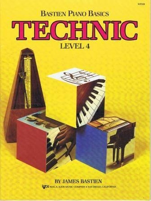 Bastien Piano Basics Technic Level 4 / Bastien James / Kjos Music Co