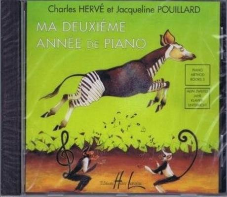 Ma deuxième année de piano CD / Hervé et Pouillard / Henry Lemoine