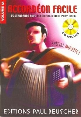 Accordéon facile, vol. 5: spécial musette /  / Paul Beuscher